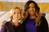 Agnieszka Wieczorkowska and Adaku Okafor Ezeudo - the International Women's Day